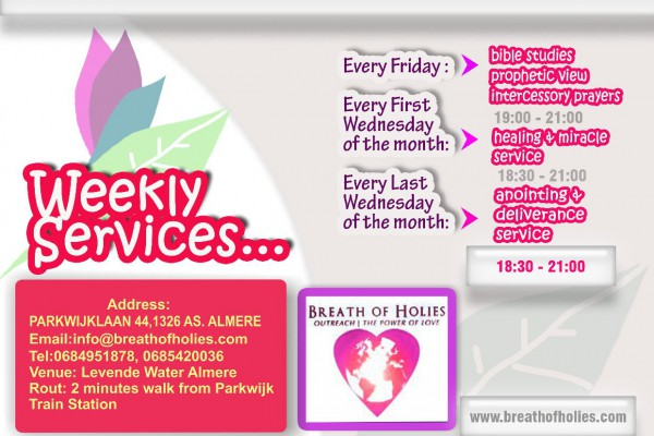 weekly service